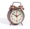 Classic Vintage Style Alarm Clock With Bells Royalty Free Stock Images - 38808029
