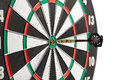 Dart In The Centre Of A Dart Board Royalty Free Stock Image - 38808936