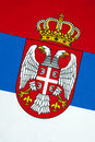 Flag Of Serbia Royalty Free Stock Photo - 38810065