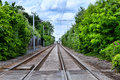 Tramway Railway Royalty Free Stock Images - 38844149