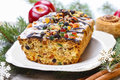 Fruitcake With Dried Fruits And Nuts Royalty Free Stock Image - 38849716