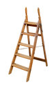 Wooden Ladder Stock Photography - 38857592