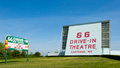 Route 66: 66 Drive-in Theatre, Carthage, MO Royalty Free Stock Photo - 38883335