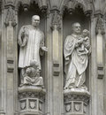 London - Westminster Abbey Facade Stock Photos - 3897313