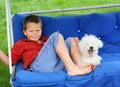 Relaxing Buddies Royalty Free Stock Images - 3897919