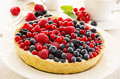 Tarte With Berries Royalty Free Stock Image - 38905266