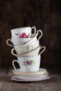 Tea Cups Royalty Free Stock Photography - 38935177
