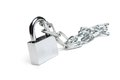 Padlock And Chain Royalty Free Stock Image - 38940026