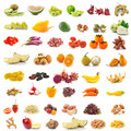 Fruit And Vegetable  On White Background Royalty Free Stock Images - 38966199