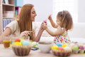 Mother And Her Baby During Easter Stock Photo - 38974960