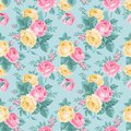 Vector Seamless Vintage Floral Pattern. Stock Photo - 38994000