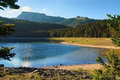 View On Black Lake In Durmitor National Park Stock Photography - 38994682
