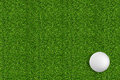 Golf Ball On The Green Grass Of The Golf Stock Images - 38997294