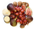 Fruit And Nut Platter Stock Image - 3902301