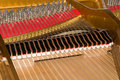 Inside Baby Grand Piano Royalty Free Stock Image - 3905246