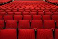 Red Chairs In Movie Theater Stock Photos - 39001823