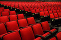 Red Chairs In Movie Theater Royalty Free Stock Photo - 39001835