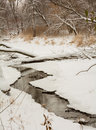 Winter Stream Royalty Free Stock Photography - 39019707