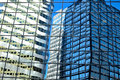 Reflections In Glass Building Royalty Free Stock Images - 39043459