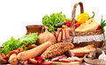 Variety Of Sausage Products. Stock Photos - 39051443