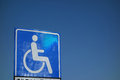 Wheelchair Accessible Sign Stock Photo - 39055660