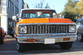 Old Chevrolet Truck At The Car Show Royalty Free Stock Image - 39071396