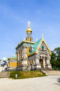 Russian Orthodox Chapel In Darmstadt Royalty Free Stock Photos - 39079228