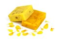 Soap With Yellow Petals Stock Photography - 39095672