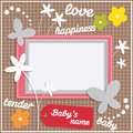 Template Frame Design For Baby Stock Images - 39100414