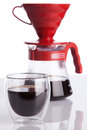 Cup Of Coffee And Pour-over Stock Photography - 39131602