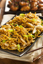 Asian Chow Mein Noodles Royalty Free Stock Photos - 39136998