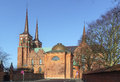 Roskilde Cathedral, Denmark Stock Images - 39151174