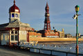 Blackpool Tower From North Pier Stock Image - 39158141