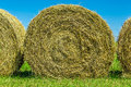 Yellow Hay In A Field Stock Photography - 39161952