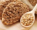 Bread From Wheat Sprouts And Sprouted Seeds Stock Image - 39167001