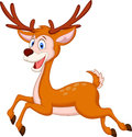 Cute Deer Cartoon Running Royalty Free Stock Photo - 39167325