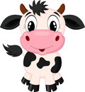 Cute Cow Cartoon Royalty Free Stock Images - 39167409