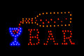 Neon Sign, Bar Royalty Free Stock Images - 39179979