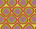 Retro Colorful Teardrops Collage Stock Images - 3924944