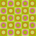 Retro Circles And Squares Collage Stock Photo - 3925200