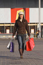 Woman Shopping Royalty Free Stock Photo - 3928905