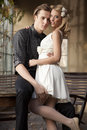 Portrait Of Young Couple In Love Posing Stock Photo - 39219100