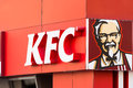 Kentucky Fried Chicken Restaurant Sign Royalty Free Stock Photo - 39234895