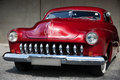 Front View Of American Classic Car Royalty Free Stock Photography - 39263317