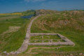 Gateway On Hadrians Wall Stock Images - 39284734