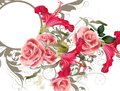Fashion Vector  Pattern With Flowers Stock Image - 39289431