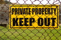 Private Property Royalty Free Stock Photography - 3935967