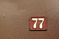 House Number Royalty Free Stock Photography - 39305087