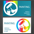 Business Card For Painting Stock Photos - 39305583