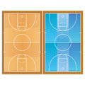 Basketball Field  Isolated On White Background Stock Photography - 39305722
